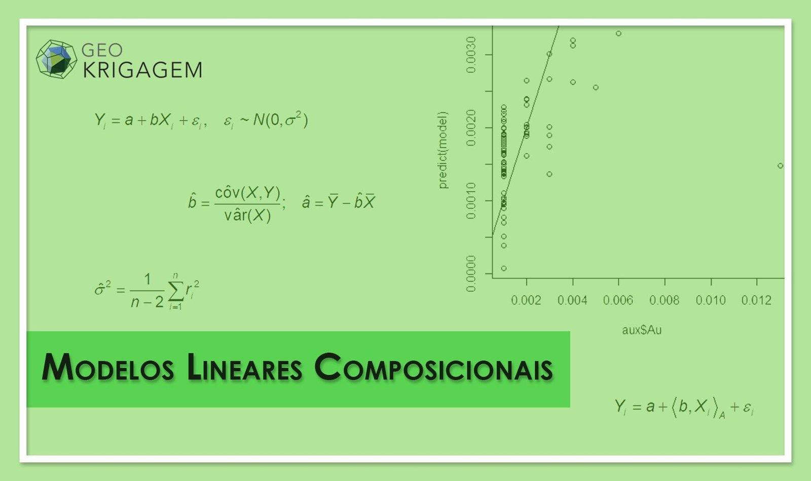 Análise composicional - modelos lineares composicionais